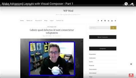 layout part wordpress make advanced layouts with visual composer part 1 san
