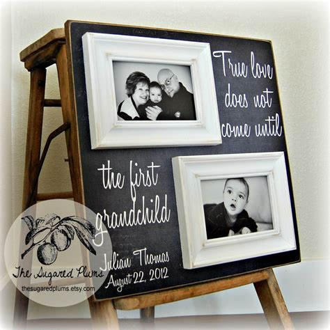 best grandparent gifts gifts for grandparents personalized picture frame custom