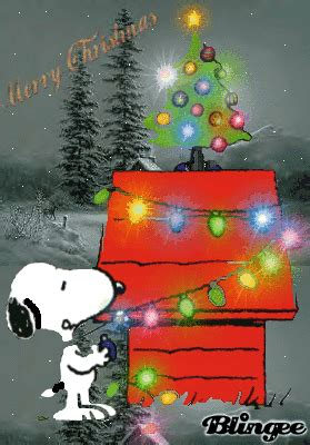 peanuts animated christmas images snoopy picture 118968967 blingee