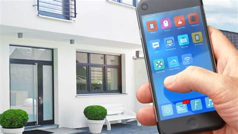 smartphone home automation design decoration