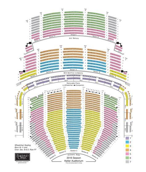 keller auditorium seating view keller auditorium seating chart brokeasshome