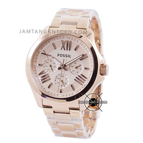 Fossil Rantai Rosegold harga sarap jam tangan fossil cecile am4511 original
