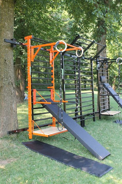 backyard gymnastics equipment 25 best ideas about outdoor gym on pinterest backyard
