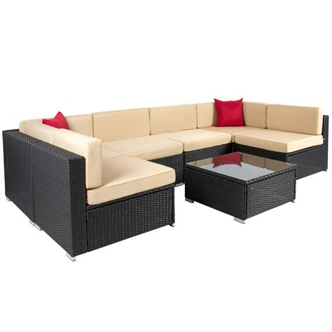 Furniture Outdoor Sectional Sofa With Outdoor Patio Wicker Sectional Patio Furniture