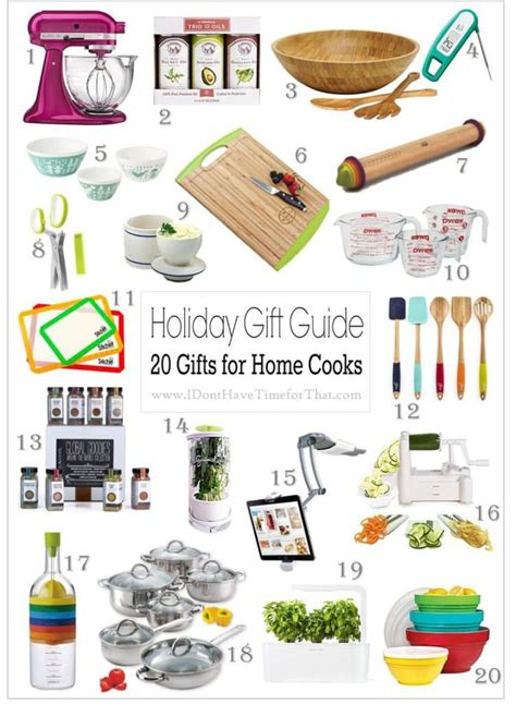 gifts for cooks holiday gift guide 20 gifts for home cooks i don t have