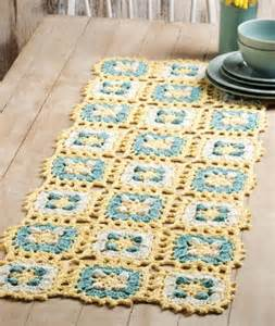 w501 crochet pattern only skies table runner scarf