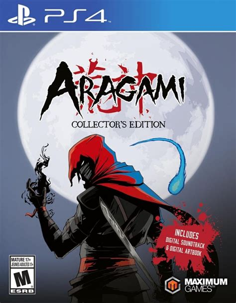 Kaset Ps4 Aragami Collector S Edition Box Release Date And More Details Revealed For Aragami Collector S Edition On Ps4