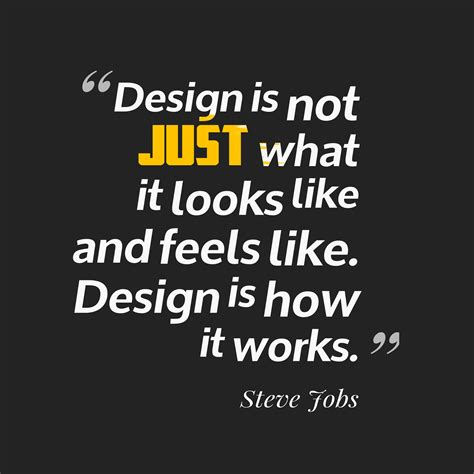 design is not how it looks design is not just what it looks like and feels li by
