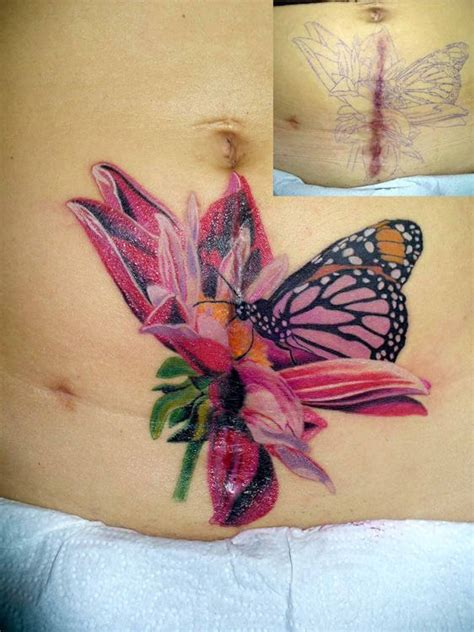 scar covering tattoo design 22 best tattoos to cover my scars images on