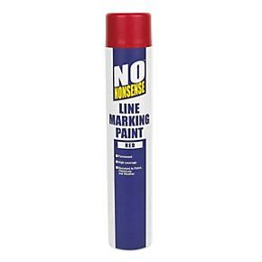 no nonsense line marking paint 750ml line marking paints screwfix