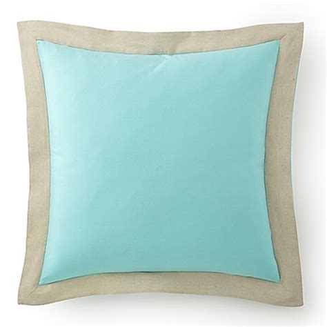 euro pillows bed bath and beyond levtex home petra european pillow sham in teal bed bath