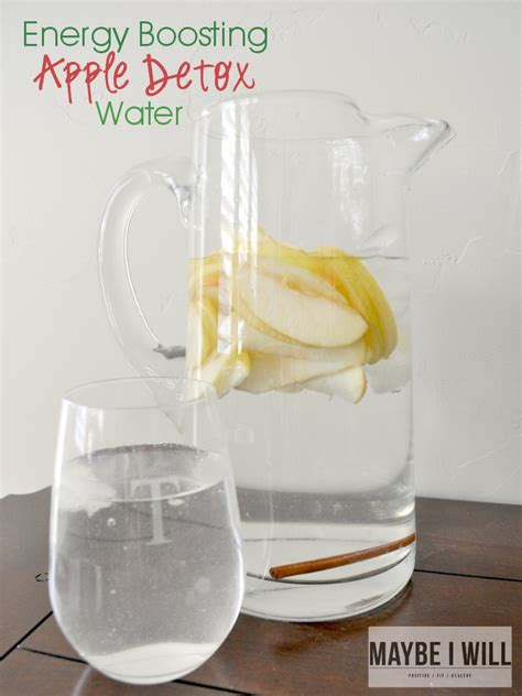 Energy Boost Detox Water by Apple Detox Water