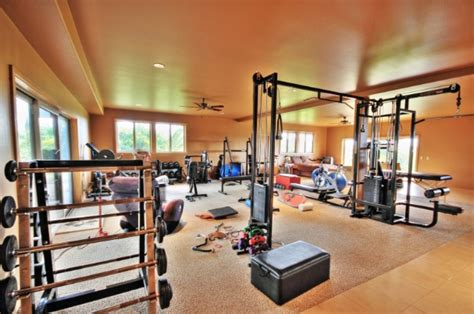 amazing home gyms average joes