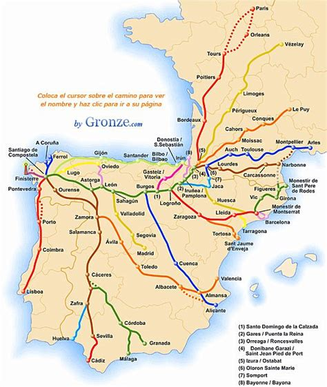 camino routes the varied routes on the camino de santiago or the way of