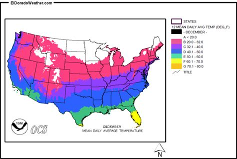 weather map usa december united states yearly annual daily average temperature