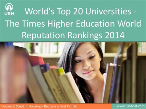 Times Higher Education Mba Ranking by World S Top 20 Universities The Times Higher Education