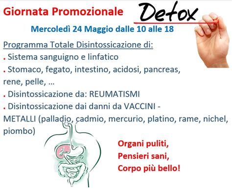 Giornata Detox by Giornata Promozionale Detox Esoterismo Dintorni