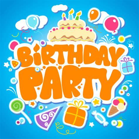 happy birthday design elements creative happy birthday design elements vector art free