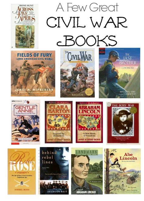 civil wars books we re learning about the civil war gift ideas