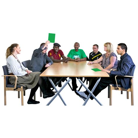 Big Meeting Table Self Advocacy Easy Read Voiceability