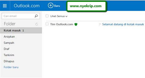 membuat email hotmail com cara membuat email baru lengkap gambar nyekrip