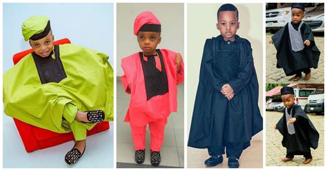 Awesome Agbada Styles For Children   Amillionstyles.com