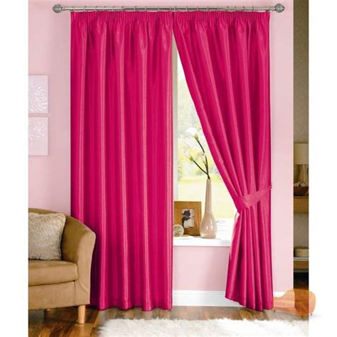 java faux silk pencil pleat lined curtains ebay curtains