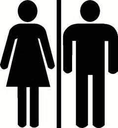 bathroom and toilet door signs unisex mens womens restroom bathroom door sign by