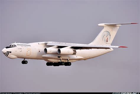 ilyushin il td maximus air cargo aviation photo  airlinersnet