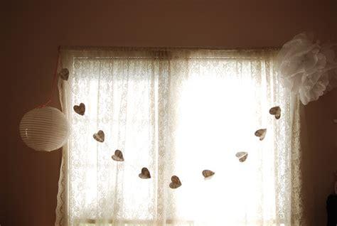bedroom garland diy room decor tissue paper pom pom music heart garland