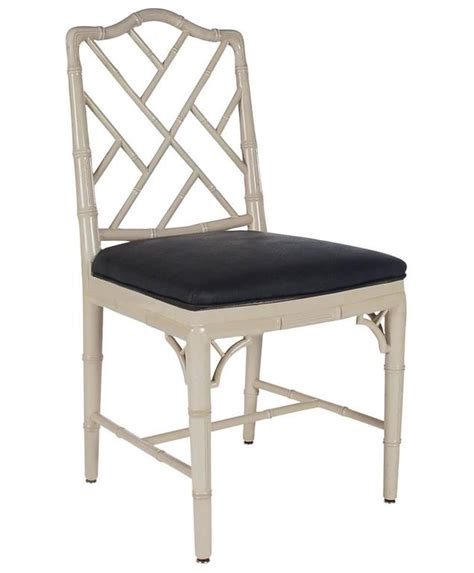 chinese chippendale hollywood regency grey bamboo dining chinese chippendale faux bamboo grey and black dining