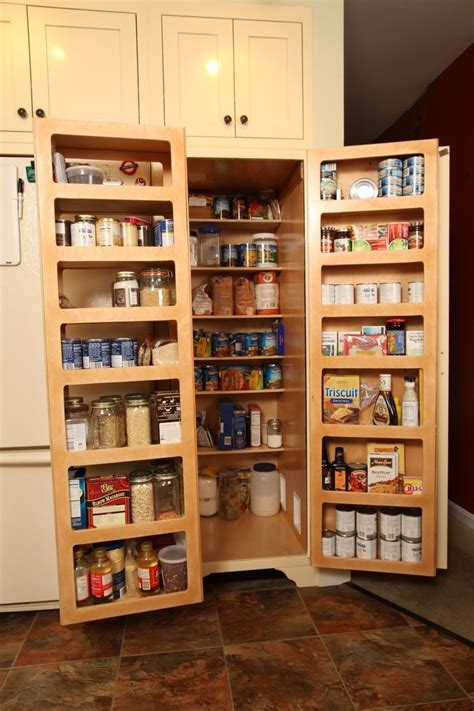 Kitchen Cabinet Storage Options Made Kitchen Pantry Fold Out Doors By Homecoming Woodworks Custommade