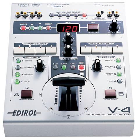 edirol v4 vision mixer power
