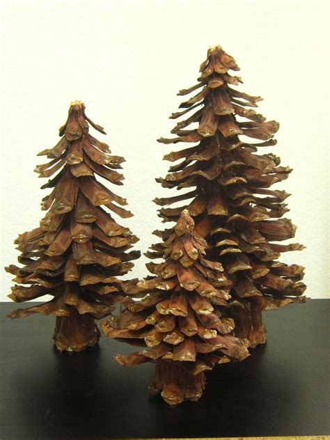 amazing pine cone christmas tree decorations ideas