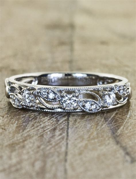 different yet simple wedding band style: Emeli. This