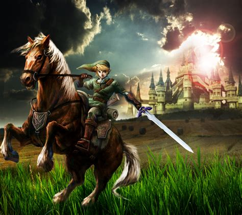 imagenes epicas de zelda link and epona by happy m salesman on deviantart