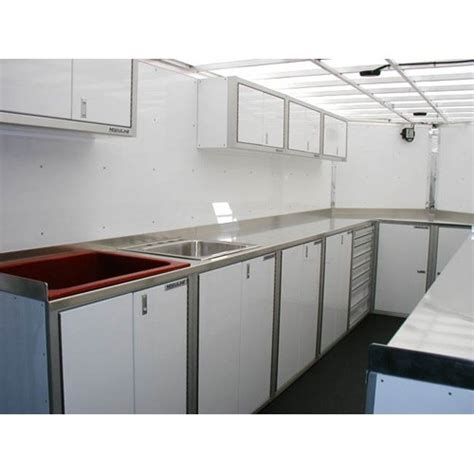 stainless countertop with sink pro ii trailer countertops and braces moduline
