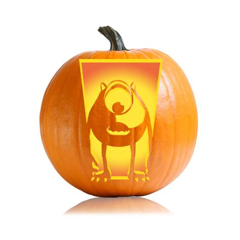 mike wazowski pumpkin carving template mike wazowski pumpkin pattern ultimate pumpkin stencils