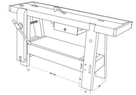 wooden bench screw plan c a roubo bench wooden screws progressive gardening