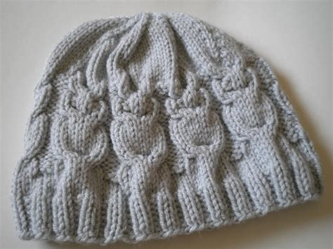 owl hat knitting pattern knit owl hat pattern a knitting