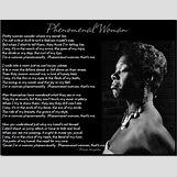 Maya Angelou Phenomenal Woman | 736 x 566 jpeg 93kB