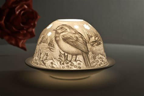 vögel im garten füttern dome light 30163 motiv v 195 182 gel im winter teelichthalter
