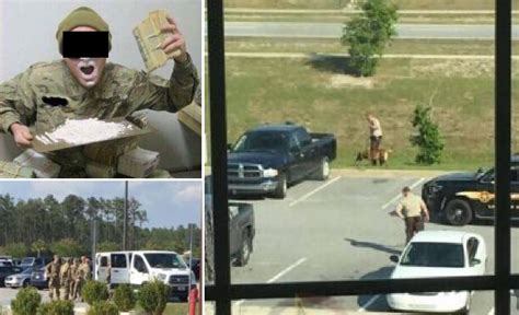 US Army base on lockdown, sixty four soldiers busted in ... Ft. Stewart Facebook