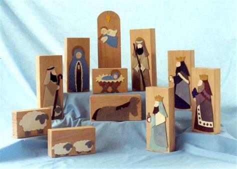 wood nativity patterns  patterns