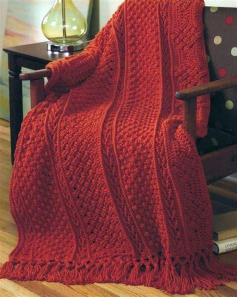 basketweave knit afghan pattern 91 best images about knit afghan aran on free