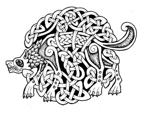 celtic wolf stock by feivelyn on deviantart