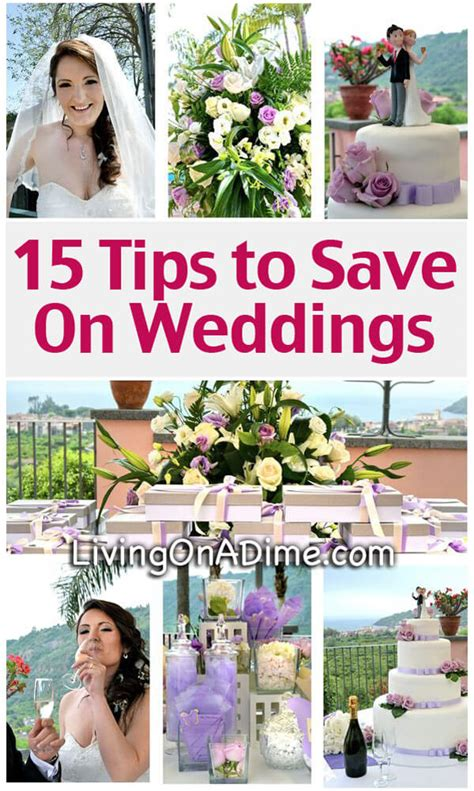 15 to save on weddings cheap wedding ideas