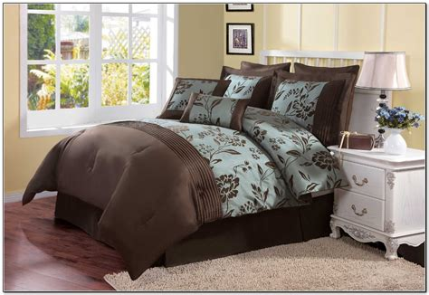 aqua blue and brown comforter sets aqua blue and brown bedding sets beds home design