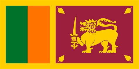 flags of the world lion sri lanka flags of countries