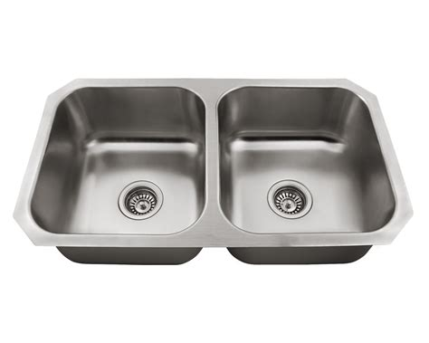 Us1022 Double Bowl Stainless Steel Sink Metal Kitchen Sinks